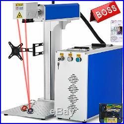 30W Fiber Laser Marking Machine Steel Novel Design Metal&Non-Metal Laser Focus