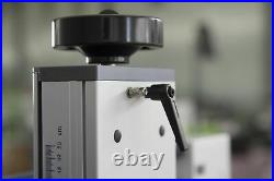 30W Fiber Laser Metal Marking Machine Engraver Two Field lens WithRotary Axis US
