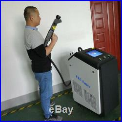 30W Industrial Mold Metal non-metal Surface Laser Cleaner Rust Removal Machine