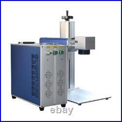 30W Raycus Fiber Laser Marking Machine CNC Laser Metal steel copper Engraving