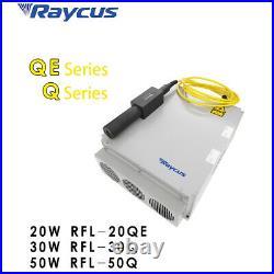 30W Raycus Fiber Laser Marking Machine Laser Engraver Laser Marker 80mm Rotary