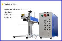 30W Raycus Fiber Laser Marking Machine for Marking Metal Stainless Steel&Plastic