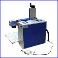 30W Split Fiber Laser Marking Engraving Engraver Equipment Rotary Axis Include