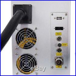 30W Split Fiber Laser Marking Machine Deep CNC Laser Metal Engraving 7.9x7.9