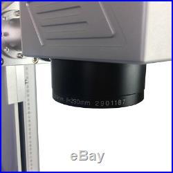 30w 200x200mm fiber laser marking machine Raycus nameplate jewelry engraver sino