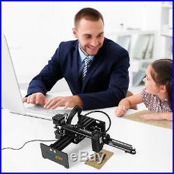 3500mW Desktop DIY Marking Logo Laser Engraver Printer Cutting Engraving Machine