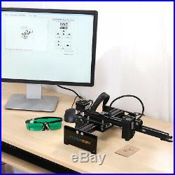 3500mW Desktop Laser Engraving Machine DIY Logo Marking Printer USB Engraver US