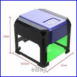 3500mW Mini Laser Engraver DIY Mark Printer Cutter Carver Engraving Machine