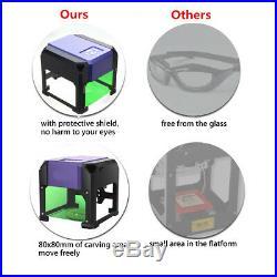 3500mW USB Mini Laser Engraver DIY Logo Mark Printer Cutter Carver Machine
