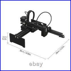 3500mw Desktop Laser Engraver Engraving Carving Machine DIY Laser Logo Printer