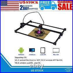 3D Laser Engraving and Cutting Laser Engraver and Cutter Machine Printer desktop