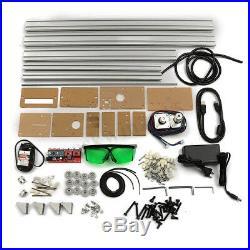4050cm 2500MW 2.5W Laser Engraver Desktop Engraving Cutting Machine Printer Kit