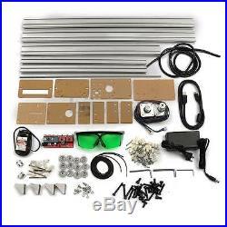 4050cm Area 500mW Mini Laser Engraving Cutting Machine Printer Kit Desktop New