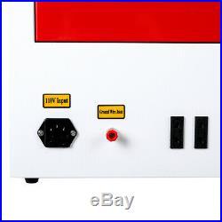 40W 8X12/200X300mm CO2 Laser Engraver Engraving Cutting Machine USB Port DIY