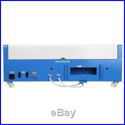 40W CO2 Laser Cutter Graviermaschine Cutting Engraving/Die Drehachse(fakultativ)