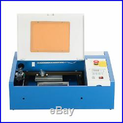 40W CO2 Laser Engraving Cutting Machine Engraver Cutter 128 Woodworking DIY