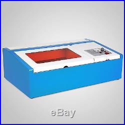 40W CO2 Laser Engraving Cutting Machine Engraver cutter 300x200mm