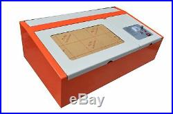 40W CO2 Laser Engraving Cutting Machine Laser Printer USB 300200mm