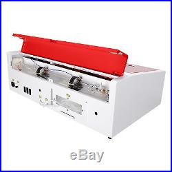 40W CO2 Laser Engraving Machine 12x 8 Engraver Cutter with USB Port