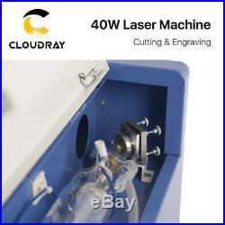 40W CO2 Stamp Laser Engraving Cutting Machine Engraver USB Port High Precise