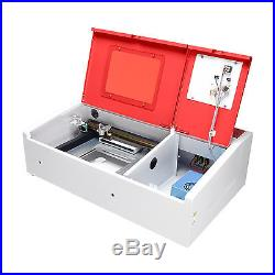 40W CO2 USB Laser Engraving Cutting Machine Engraver Cutter 300 x 200mm