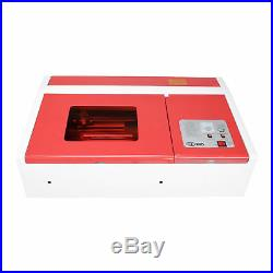 40W CO2 USB Laser Engraving Cutting Machine Engraver Cutter 300 x 200mm edy