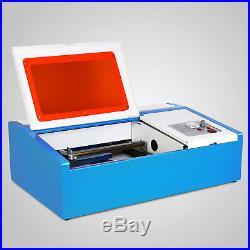 40W CO2 USB Laser Engraving Cutting Machine Engraver Cutter 300x200mm