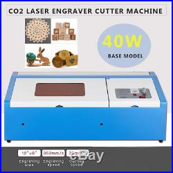 40W Co2 USB Laser Engraving Cutting Machine Engraver Cutter300 x 200mm