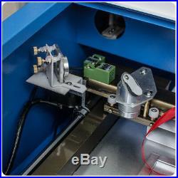 40W High Precise CO2 Laser Engraving Cutting Machine Engraver Cutter USB Port US