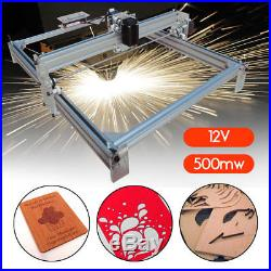 40X50CM 500MW DIY Laser Engraving Machine CNC Desktop Wood Logo Cutter Engraver
