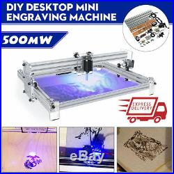 40X50CM DIY Logo Laser Engraving Machine 500mW Marking Wood Printer