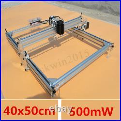 40X50CM DIY Logo Laser Engraving Machine 500mW Marking Wood Printer Best