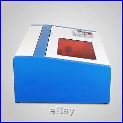40w Co2 Laser Engraving Machine Laser Engraver Cutter Usb Port Crafts Arts