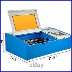40w Laser Engraver Engraving Machine 128 Co2 Cutter Cutting Tool Bargain Sale