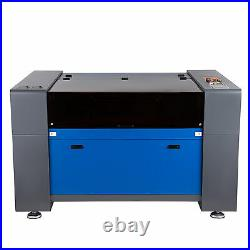 40x24 80W CO2 Laser Engraver Cutter Cutting Engraving Marking Machine Ruida