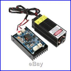 450nm 15W Blu-ray Laser Module with TTL/PWM For Wood Cutter Engraver Machine