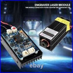 5.5W 450nm Blue CNC Laser Module with Heatsink for Laser Engraver Machine Module
