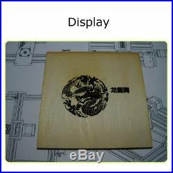 500/2000/3000mW DIY Mini Laser Engraving Machine Marking Wood Printer