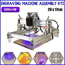 500MW DIY CNC Laser Engraving Cutting Machine Engraver Printer Desktop Cutter