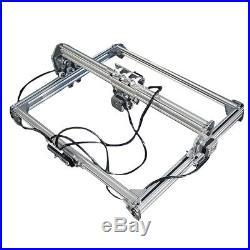 500mW 40x50cm Area Mini Laser Engraving Cutting Machine Printer Kit DIY Desktop