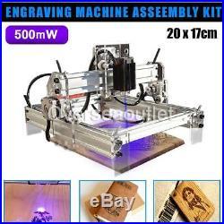 500mW DIY 2017cm Laser Engraving Marking Machine Desktop Laser Engraving Kit