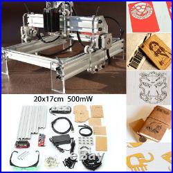 500mW USB Mini Laser Engraver Printer Cutter Carver DIY Mark Engraving Machine