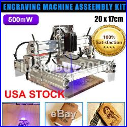 500mW USB Mini Laser Engraver Printer Cutter DIY Mark Engraving Machine 2017CM