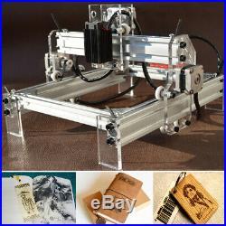 500mw Desktop Laser Engraver Engraving Machine Logo Mark Carver Printer Cutter