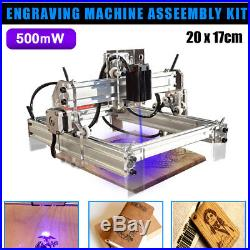 500mw Desktop Laser Engraving Engraver Cutting Machine DIY Logo Carving Printer
