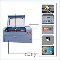50W 500x300mm Desktop Co2 Laser Engraving Machine Laser Engraver USB
