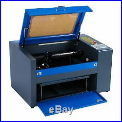 50W CO2 Laser Engraving Cutting Machine Engraver 110V USB Cutter 2012 W. Rotary