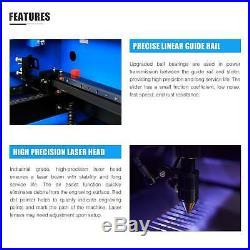 50W CO2 Laser Engraving Cutting Machine Engraver Cutter Trocen DSP 12 X 20 inch