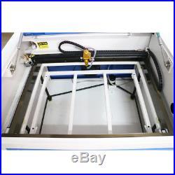 50W CO2 Laser Engraving Cutting Machine Engraver Cutter USB Port