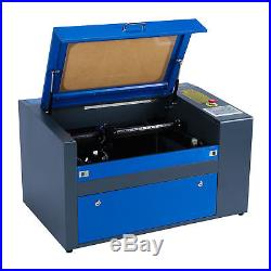 50W CO2 USB Laser Engraving Cutting Machine Engraver Cutter Woodworking/Crafts